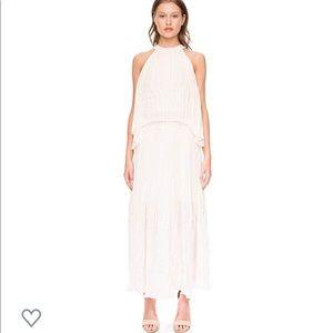Keepsake Follow the sun skirt, ivory, size L, new